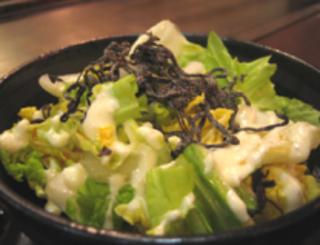 しゃきっと白菜サラダ