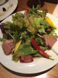 鴨肉のサラダ