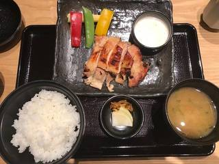 鶏の西京焼き定食