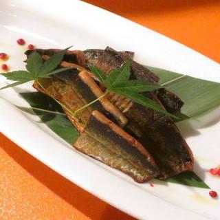 秋刀魚の自家製スモーク