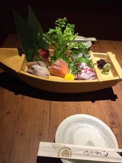 旬の鮮魚お刺身5点盛り