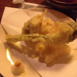 季節の天ぷら盛り合せ