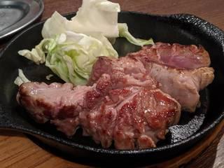 ラム肉ステーキ