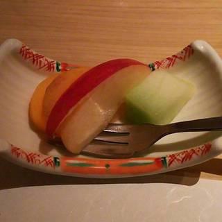 季節の水菓子