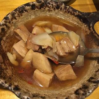 地鶏と野菜の煮物