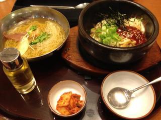 石焼きビビンバ&ミニ冷麺セット