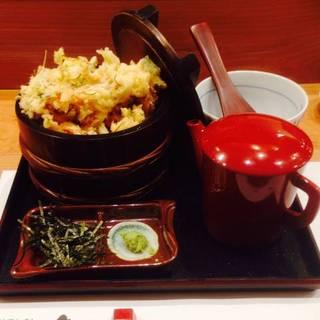 柚子塩えび天茶丼