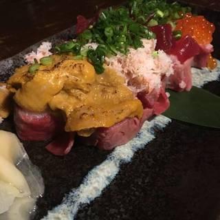 究極 一砂こぼれ寿司
