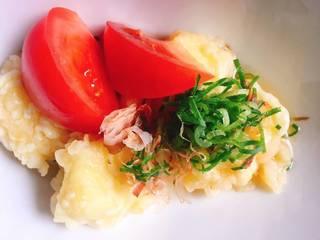 モッツァレラチーズの揚げ出汁
