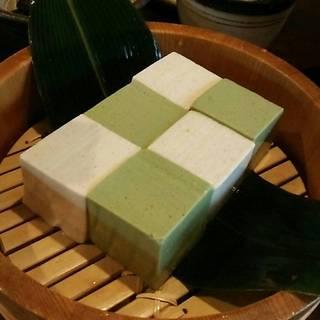 手桶冷やし豆腐