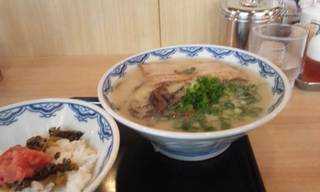 博多ラーメン&高菜明太ごはんセット