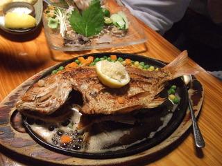 魚のバター焼き