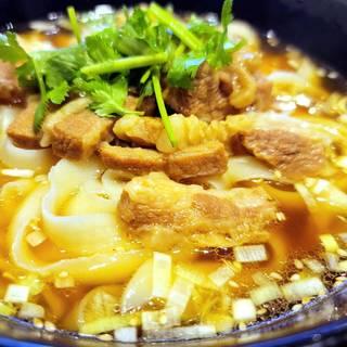 牛バラ肉刀削麺