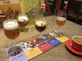ビール3種飲み比べ