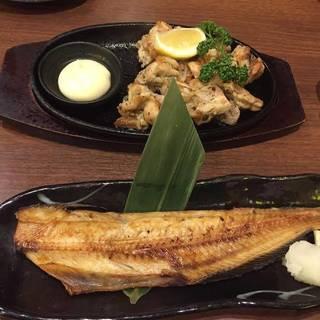 北海道産ほっけ焼き