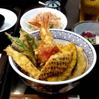 夏野菜天丼