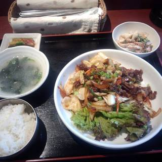 牛焼肉定食