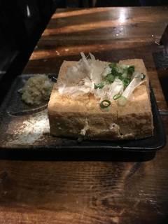 熱々厚揚げ豆腐