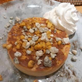 焼きとうもろこしパンケーキ&ハニーゴルゴンソース