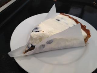 ベリーのクリームチーズケーキ