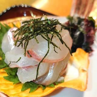 宇和島鯛の刺身