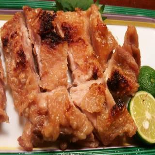 鶏カリカリ焼