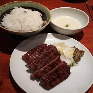 牛たん定食 3枚(6切)