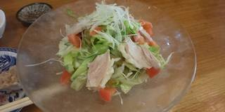 鶏のサラダ麺